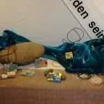 Schmuck aus Mosaik. Ausstellung Waldbronn-Reichenbach. LebeGut-Haus.