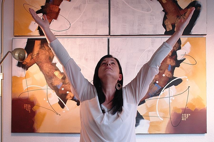 ARCHE-MEDIT. Vision 2014. Karin Heim führt durch die Meditation. LebeGut-Haus Waldbronn.