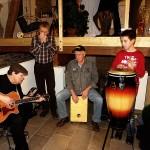 Einweihung. Konzert mit Gary White, Friedjürgen Bachl, Willi Heim.