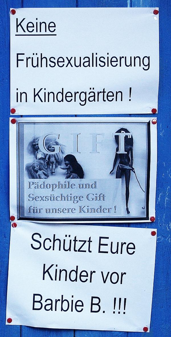 ARCHE-Foto Keltern-Weiler Frühsexualisierung Schützt Eure Kinder !