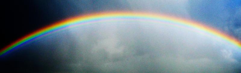 ARCHE-Foto Keltern-Weiler Regenbogen über der ARCHE 1