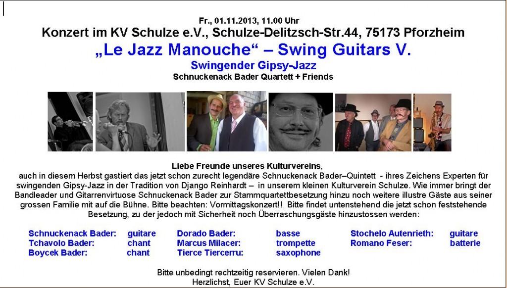 Extern-Foto Swing Guitars 5 Pforzheim