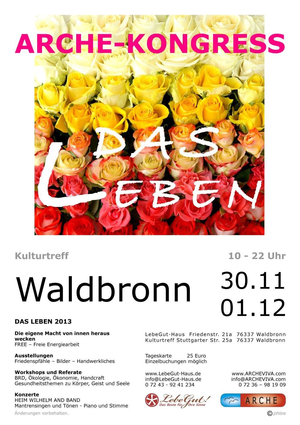 ARCHE-Plakat-Keltern-Weiler-ARCHE-KONGRESS-Waldbronn