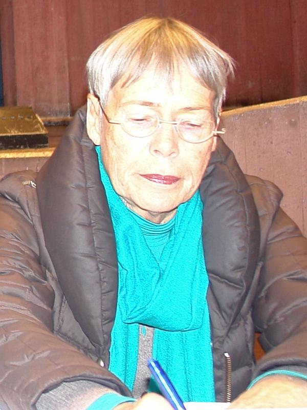 ARCHE traf Prof. Dr. Margrit Kennedy bei ihrem Vortrag in Karlsruhe