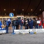 Extern-Foto Straßburg Keltern-Weiler Delegation kid - eke - pas vor dem Europarat