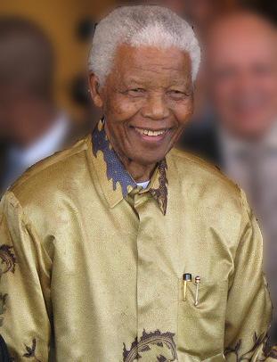 Freiheitskämpfer. Nelson Mandela.
