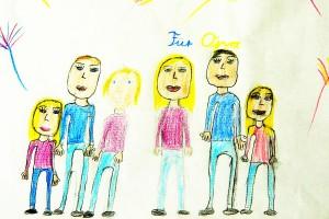 Recht auf Familie. Recht auf Vater. Recht auf Mutter. Recht auf Großeltern und Geschwister. UN-Recht.
