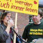 ARCHE-Foto Keltern-Weiler Lüneburg Entsorgte Eltern und Großeltern Demonstration kid-eke-pas_02
