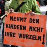 ARCHE-Foto Keltern-Weiler Lüneburg Entsorgte Eltern und Großeltern Demonstration kid-eke-pas_11
