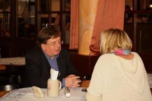 Erich Naumann im Gespräch