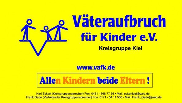Logo VAfK Kreisgruppe Kiel unter Leitung von Karl-Heinz Eckert