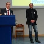 Die Veranstalter. Prof. Dr. Matthias Franz und OA Andre Karger.