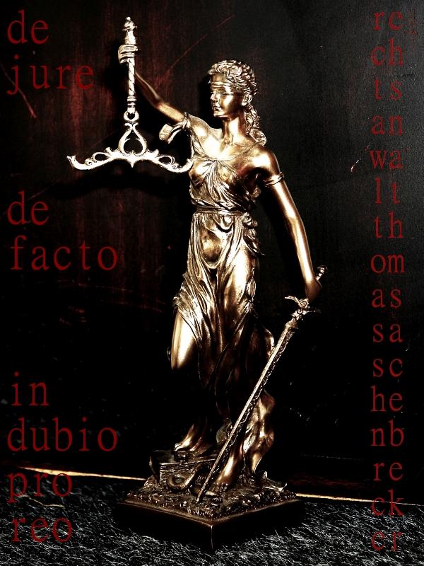 Iustitia. Aus der Kanzlei von Thomas Saschenbrecker.