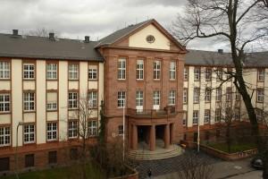 Ort der ausschlaggebenden Handlung.  Amtsgericht Gießen. Foto: Heiderose Manthey