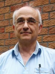 """Gießen. Beim Symposium """"Die Richter und ihre Denker"""". Prof. Dr. Aris Christidis. Foto: Heiderose Manthey"""