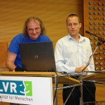 Fachtagung 2012. Hartmut Wolters und Dr. Christoph Mandla.
