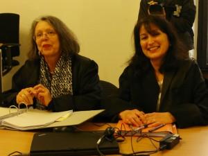 Wehrt sich mit allen Kräften gegen den Vorwurf männer- und väterfeindlicher Aussagen, die sie als Vortragende bei einer Veranstaltung des VAM (V) getätigt haben solle: Fachanwältin für Familienrecht aus München, Cornelia Strasser.