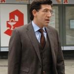 Der Autor. Marcel Offermann. Zeuge vor dem Landgericht.