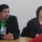 Mathieu und Klage-vertreterin Gieseking.