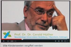 Hüther arbeitet in der neurologischen Grundlagenforschung an der Psychiatrischen Klinik der Uni Göttingen. Als wissenschaftlicher Mitarbeiter betrieb er dort eine Zentralstelle für neurobiologische Präventionsforschung. 2014 nimmt er sich Zeit für Forschung und Lehre.