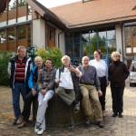 Einige Absolventen des Oster-Seminars 2014.