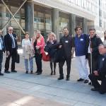 ARCHE-Foto Keltern-Weiler Brüssel Delegation von Petenten aus Deutschland, Griechenland, Italien, Frankreich Europäisches Parlament_10