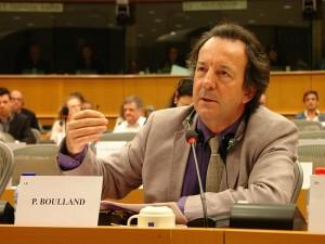 Philippe Boulland, eurodéputé PPE, membre de la commission des Pétitions. Philippe Boulland, Abgeordneter des Europäischen Parlaments, Mitglied des Petitionsausschusses.