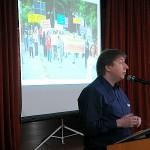 Peter Witkowski beim Vortrag.