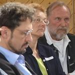 Klaus-Peter Treutler, Angela Hoffmeyer und Franzjörg Krieg.