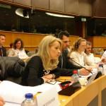 ARCHE-Foto Keltern-Weiler Brüssel Europäisches Parlament Petent Marinella Colombo _01