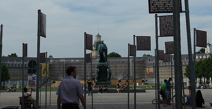 ARCHE-Foto Keltern-Weiler Karlsruhe KARLSRUHER FRIEDENS-PROKLAMATION Platz der Grundrechte 19. Mai 2014_138