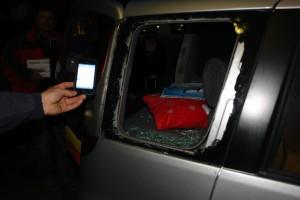 Fenster eingeschlagen und zwei Profi-Kameras und drei Stative gestohlen. DNA-Spuren wurden genommen.