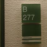 Auf die Schnelle. Raumverlegung. Saal B 277 Strafgericht München.