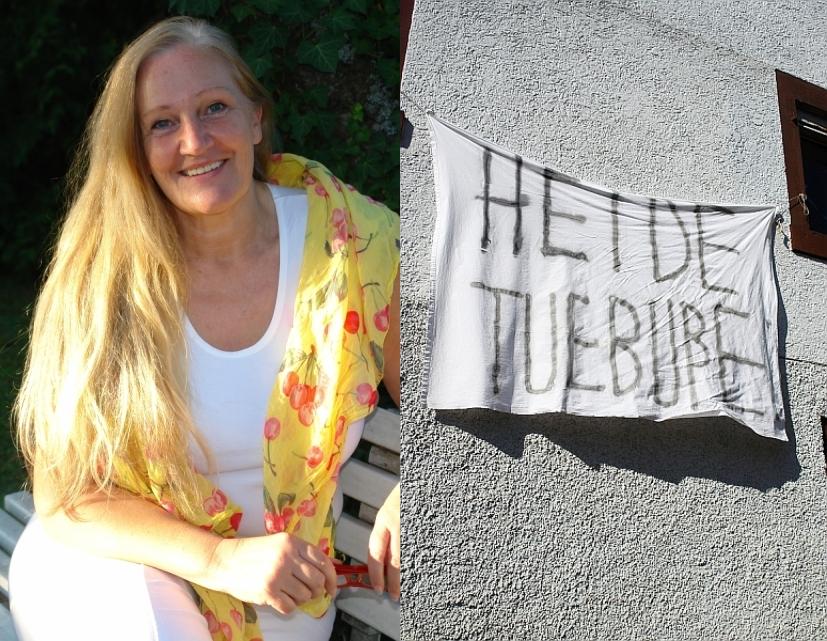 ARCHE-Foto Keltern-Weiler Weitere Anschläge auf Heiderose Manthey_13