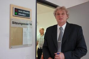 Matthias Engl. Beginn des dritten Verhandlungstages.