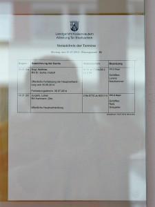 LG Kaiserslautern 6610 Js 17884-09.2 Ls 3 Ns, Verhandlung am 21.07.2014