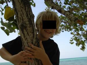 Erholungsreise für den Buben. Mildes Klima in der Karibik. Foto: Leihgabe