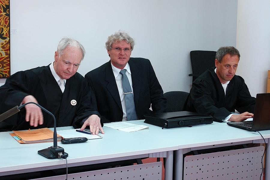 Berufung. v.l. Claus Plantiko, Matthias Engl,