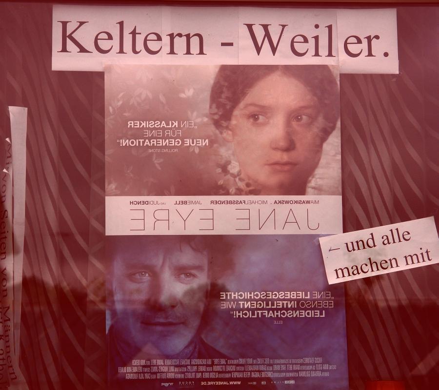 ARCHE-Foto Keltern-Weiler Schaufenster ARCHE Eine Liebesgeschichte ebenso intelligent wie leidenschaftlich Jame Eyre_04