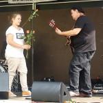 ARCHE-Foto Keltern-Weiler Karlsruhe Spendenmarathon 2013 Gary White in concert_110