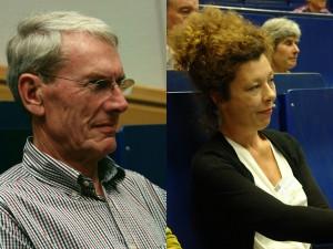 Dr. Albert Wunsch und Dr. phil. Victoria Meinschäfer. Zuständig für Fachberichte aus der Heinrich-Heine-Universität in Düsseldorf.