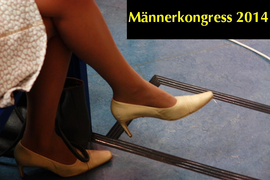 Ca. 50 % Frauen waren beim gestern zu Ende gegangenen Männerkongress anwesen. Wäre es ein Frauenkongress, so wären nur vereinzelt Männer gekommen, mutmaßte MdB a.D. Marlene Rupprecht (SPD).
