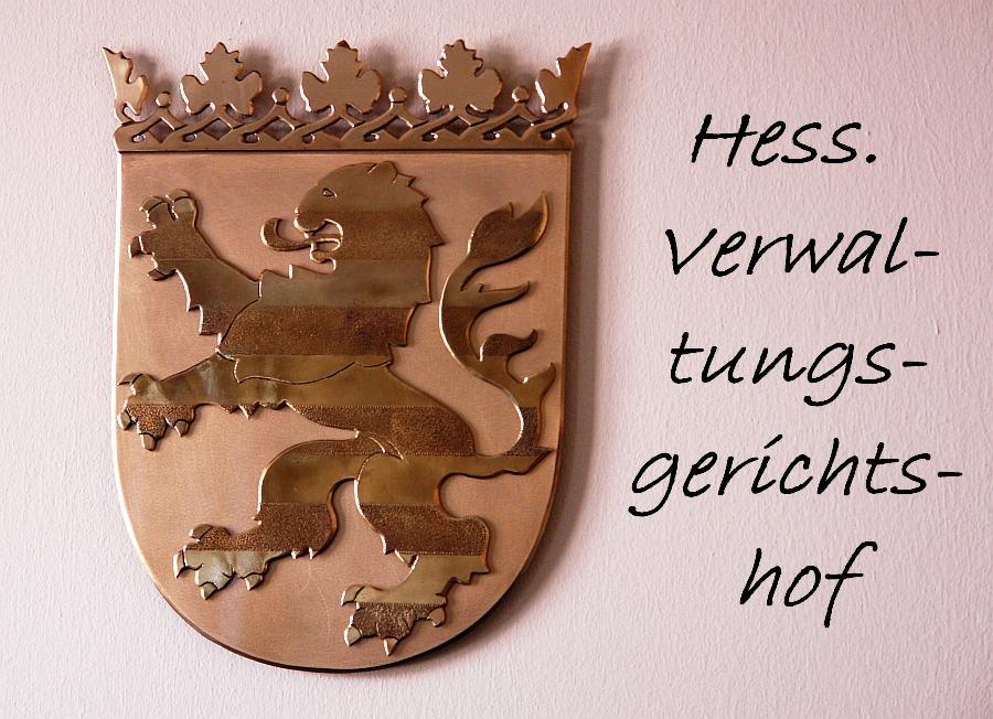 Hess. Verwaltungsgerichtshof. Raum 113. Andrea Jacob ./. Stadt Gießen. Gewonnen !