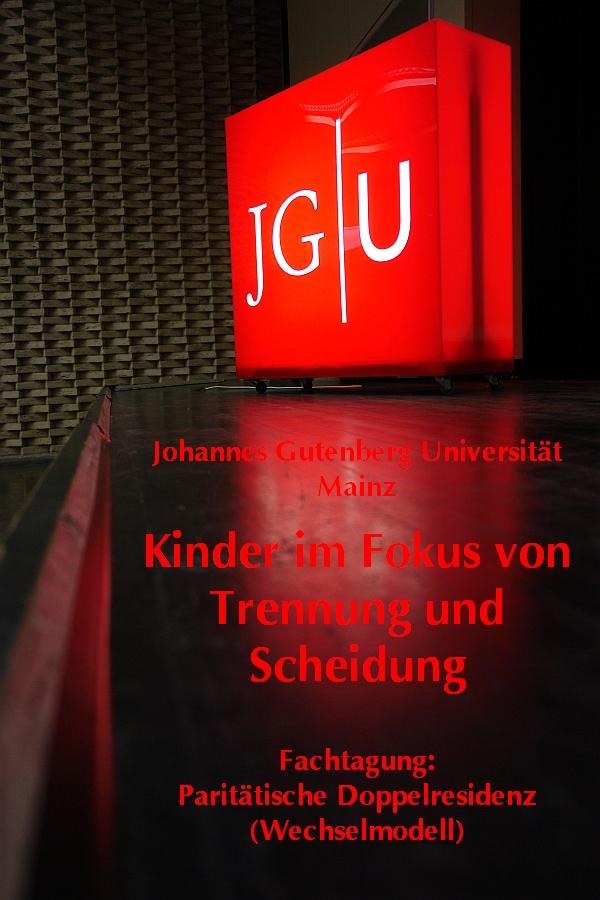 ZIF Zentrum für Interdisziplinäre Forensik. JohannesGutenberg Universität. Väteraufbruch für Kinder e.V. Mainz.