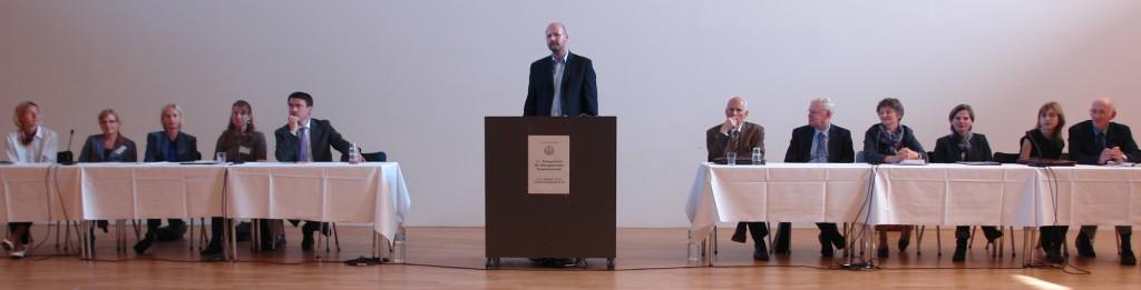 ARCHE-Foto Keltern-Weiler Regensburg Podiuim 11. Symposium Europäisches Familienrecht_01b