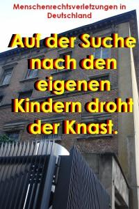 Perverses System. Aufdecken des systematischen Ausgestoßenwerdens von Elternteilen. Verletzt die Rechte der Kinder auf beide Eltern: Deutschland.