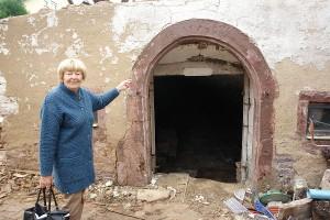 ARCHE-Foto Keltern-Weiler Söllingen Abbruch eines historischen Gebäudes Schmiede_03