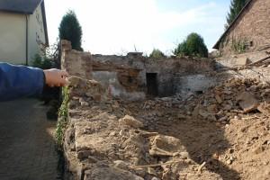ARCHE-Foto Keltern-Weiler Söllingen Abbruch eines historischen Gebäudes Schmiede_07