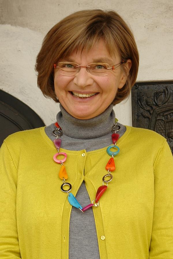 Dagmar Berkenberg zu Besuch auf dem ARCHE-Kongress 2013. Leiterin der Europäischen Foundation in München.