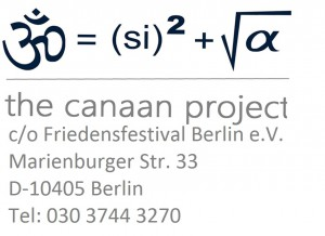 Einladung. Förderverein Friedensfestival Berlin e.V.